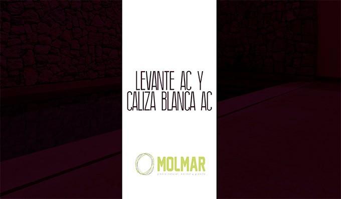 Presentación de los productos Levante AC y Caliza Blanca AC