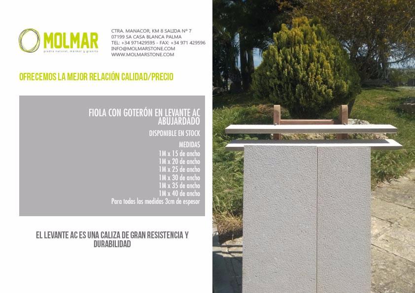 Promoción fiola Levante AC - Molmar Stone